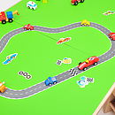 Racing Car Magnetic Play Set