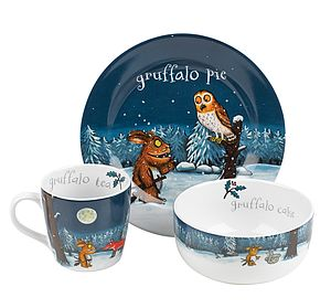 The Gruffalo Child's Dinner Set - tableware