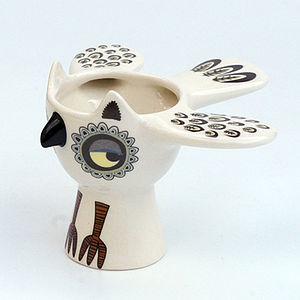 Owl Eggcup - egg cups & cosies