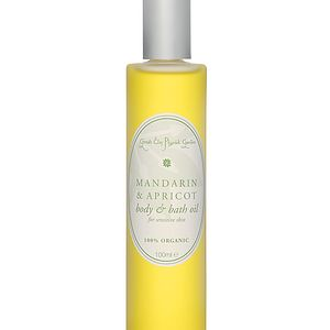 Mandarin And Apricot Organic Body/Bath Oil - health & beauty