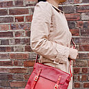 Hutton Mills Leather Satchel Bag