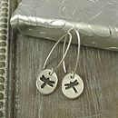 Dragonfly Handmade Fine Silver Earrings