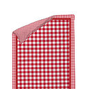 AHWM Anne Luxury quilted Bedspread red