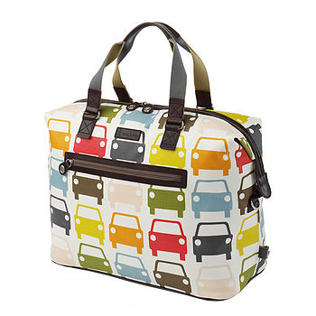 Car Print Orla Kiely Weekender Bag