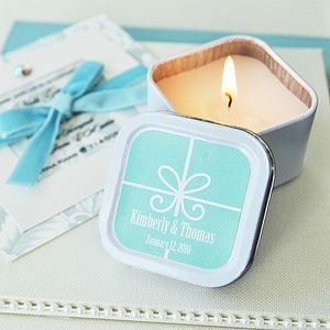 Personalised Gift Box Candles