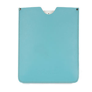 Handmade Leather IPad Cover - bags & purses