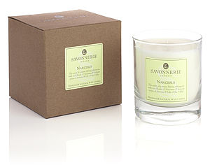 Narcissus Natural Wax Candle - candles & candlesticks