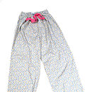 Forget Me Not Blue Floral Lounge Pants