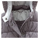 French Design Down Filled Baby Snowsuit
