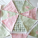 Green Bunting - Various Designs