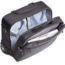 Wheeled Briefcase With Zip Away Laptop Bag