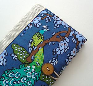 Handmade Peacocks Cover For Kindle - laptop bags & cases