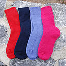 Alpaca Boot Socks For Children