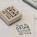 Thumb_time-to-drink-champagne-dance-rubber-stamp