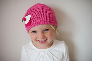 Cupcake Crochet Hat - clothing