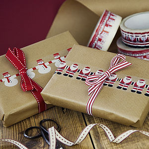 Christmas Character Decorative Tape - cards & wrap