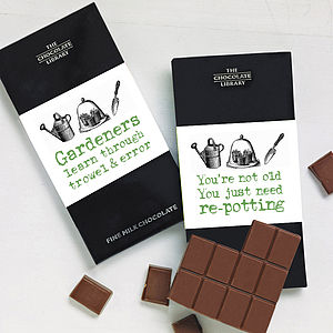 Gardener's Chocolate Bar - chocolates