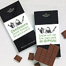 Thumb gardener s chocolate bar
