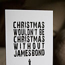 Variety Pack of 24 Typographic Christmas Cards