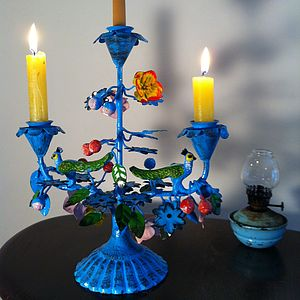 Beautiful Floral Candelabra