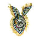 Silk Butterfly Shawl