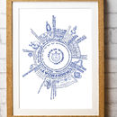 Bespoke Children's Alice In Wonderland Radial Story Print