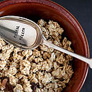 'Breakfast' Silver Plated Vintage Spoon