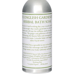 Gardener's Herbal Organic Bath Soak - bathroom