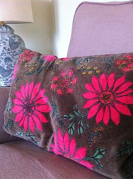 Rich Cotton Velvet Cushions