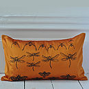 Burnt Orange Archive Cushion Cover