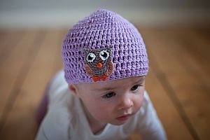 Owl Crochet Hat - babies' hats