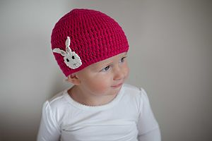Rabbit Crochet Hat - babies' hats