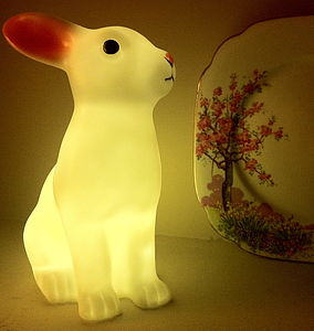 Rabbit Night Light - easter home