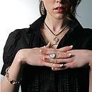 Retro Glass Bracelet