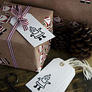 father christmas tags
