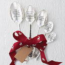 Personalised Silver Plated Spoon Gift