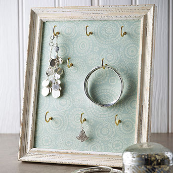 Wallpaper Art  Jewellery Storage Frame