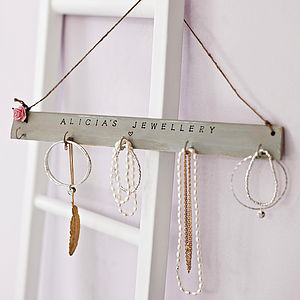 Personalised Jewellery Hook - gifts for women