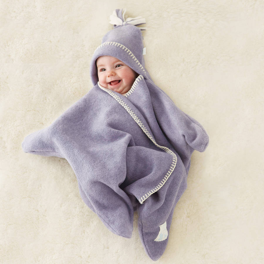 54b9ea478d0 star fleece baby wrap by tuppence and crumble