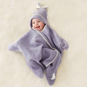 Star Fleece Baby Wrap - baby's room