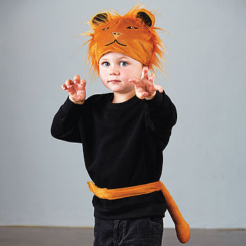 Fancy Dress Lion Hat And Tail