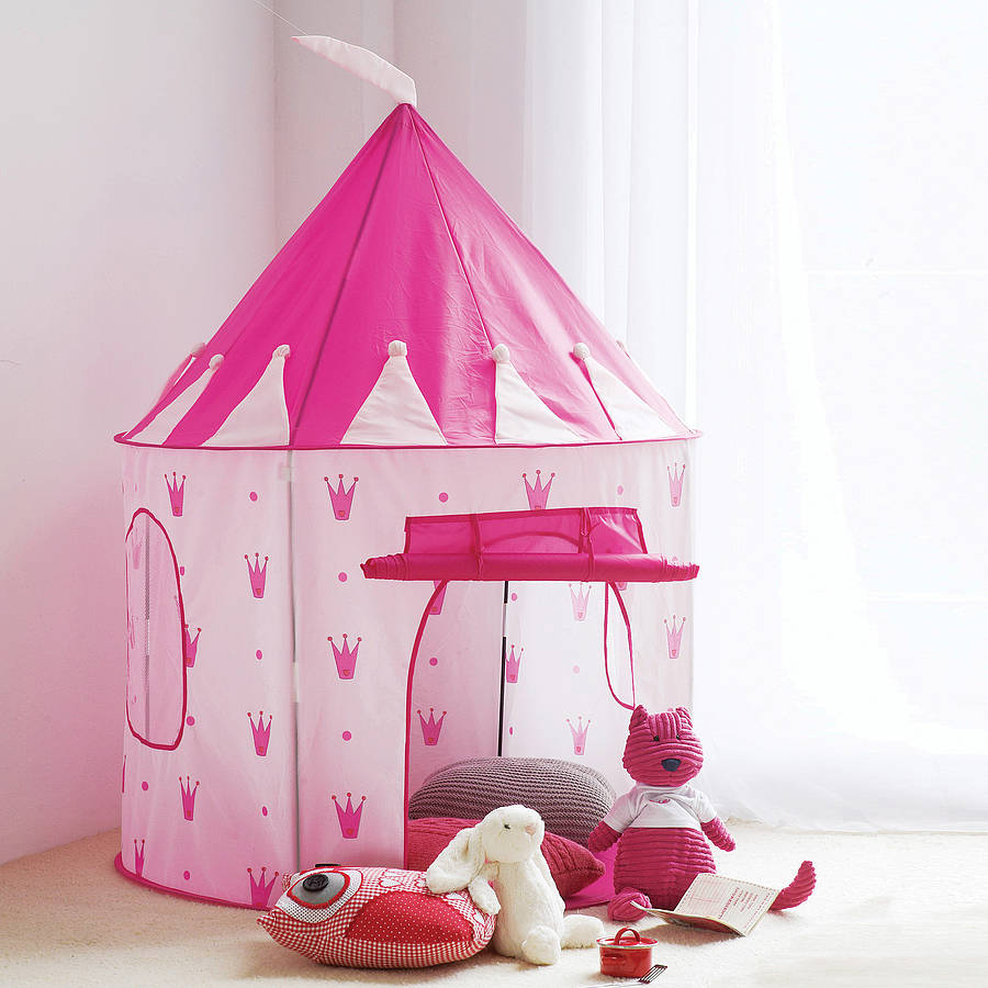 princess castle play tent by mini u kids accessories ltd