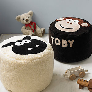 Animal Character Bean Bag - gifts for children