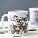 Personalised Map Mug