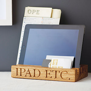 Solid Oak Desk Or Kitchen Tidy - view all father's day gifts