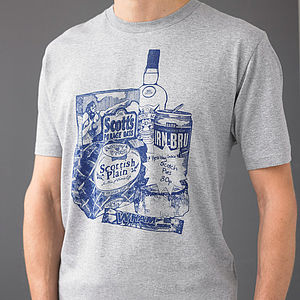 Men's 'Scottish Breakfast' T Shirt - gifts for him sale
