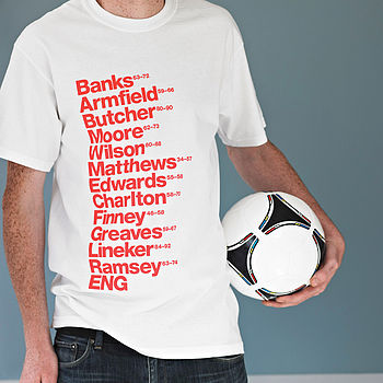 Best England Football Players T Shirt