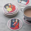 Set Of 18 Jubilee Beer Mats