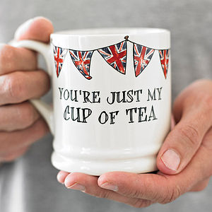 'Just My Cup Of Tea' Mug - gifts for couples