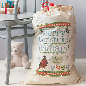 Personalised Christmas Gift Sack - children's room accessories
